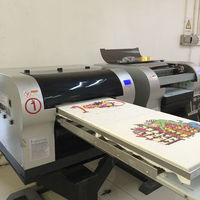 2pcs t-shirt print at same time printer for fabric business