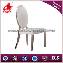 B8029G de cuero blanco y negro modernos conjuntos de sillas de comedor nobles