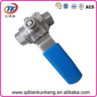 2015 lower price flanged ball valve