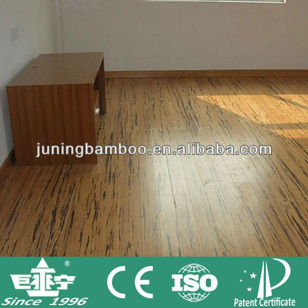 De madera dura del tigre cebra pisos de terrazas de bamb - Suelo de bambu ...
