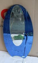 marco de vidrio espejo de la pared