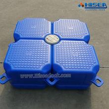 Plastic hdpe floating pontoon cubes