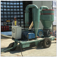 Easy maintenance automatic horizontal transfer Sawdust blower air conveyor