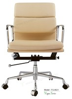 Triumph popular flexible back office chair / modern desk chair factory price / armrest executive chairs short back design