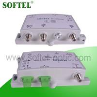 Bi-directional CATV 5-1000Mhz RFoG FTTH Indorr Node