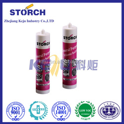 Storch A510 Waterproof Fast Curing Board Adhesion Gp Acetic Silicone Sealant