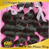 2014 best selling 5A grade natural body wave 100% human Peruvian virgin hair in China