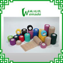 "China Manufacture Cohesive Elastic Wrist Wrap 4"" width Horse Leg Bandages 10cm"