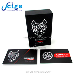 2015 Newest Authentic Sigelei Snow Wolf 200W mod Temperature Control VV / VW Box mod