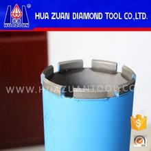 Huazuan core bit barrel wet diamond core drill bits for sale