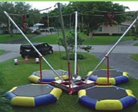 2012 new styles bungee trampoline, inflatable bungee JMQ-K153H(CE&ISO certifications)