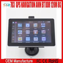 7 inch GPS NAVIGATION MSTAR MS2531 CE 6.0 FM AVIN BT BLUETOOTH DDR 128M 8GB