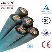 Neoprene cable natural rubber & neoprene rubber flexible cable