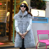Hot Sale Nature Fur Vest from China, Rabbit Fur,Rabbit Fur Vest with Fox Fur