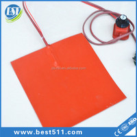 industrial electric heating flexible silicone heater