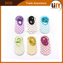 Hot sale cheap price baby wear cute sock wholesale mini boat socks fashion light colored ship socks