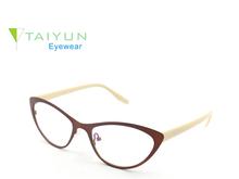 New Fashion Design Colorful Metal Optical Frames Popular Stainless steel Eyewear XS3614J