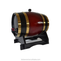 Home Decor Glossy Lacquer Wood material wooden wine barrels