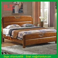 Latest design new product furniture China supplier carved solid wood canopy bed
