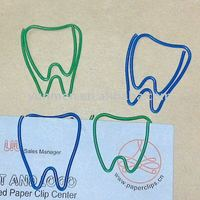 P192 office & school supplies fancy Tooth shaped paper clip