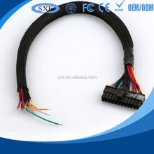 2015 factory price for shielded cable with grounding terminals cable assembly and wire harness on alibaba