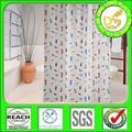 DLD001 diseño cortinas de baño doble del swag