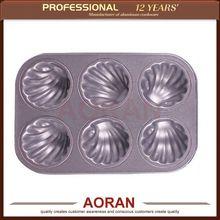 ampliamente el uso de vender populares shell en forma de pastel de molde