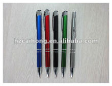 cute and unique metal ballpoint pen and promotional stationery,good handfeel for write CH6111