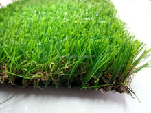 Indoor and outdoor green artificial grass turf