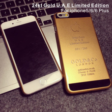 24kt Limited Edition shiny gold housing for iphone6 (replacement phone housings)