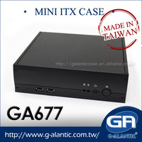 GA677 Hot selling item thin mini itx computer cases