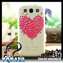 3D sublimation printing lovely case for samsung galaxy s3
