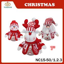 Santa Candy Box, Snowman Candy Jar, Reindeer Christmas Decoration For Kid