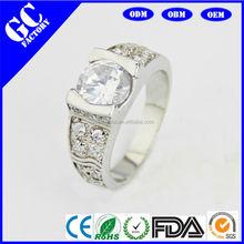 Fashionable man diamond ring design partner engagement ring