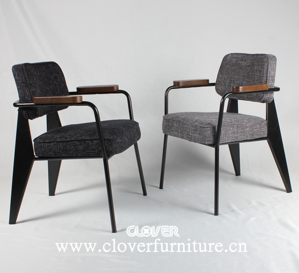 jean prouve fauteuil direction chair ca194 view jean prouve chair clover product details from. Black Bedroom Furniture Sets. Home Design Ideas