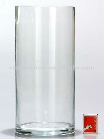Wholesale Centerpiece Tall Clear Glass Floor Vase View Clear Glass