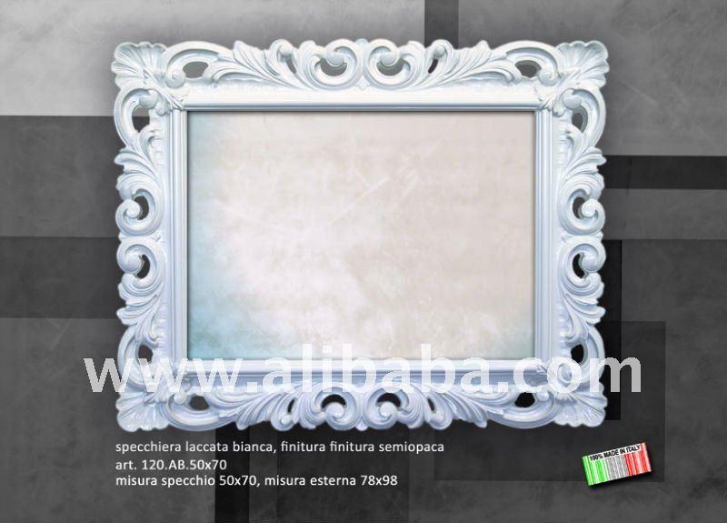 undurchl ssiger wei er spiegel art 120 spiegel produkt id. Black Bedroom Furniture Sets. Home Design Ideas