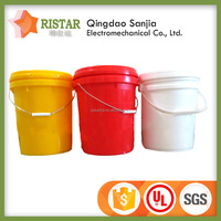 Fish Bucket 20L Colored High Quality Cheap Plastic Pail
