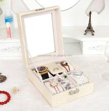 Branded Handmade Pu Custom Luxury Leather Jewelry Box - Buy Jewelry Box,Leather Jewelry Box