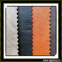 top quality embossed pattern microfiber leather for watch band belt