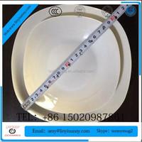 wedding paltes porcelain & ceramic,flat dish plate,porcelain rabbit dish plate
