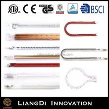 Infrared Halogen Heating Quartz Lamp for Printer