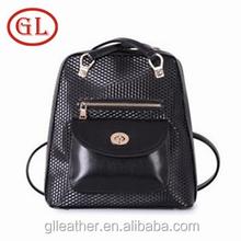 Nueva mujer bolsos de hombro mochila bandolera dos-en-uno a prueba de agua senderismo mochilas negro