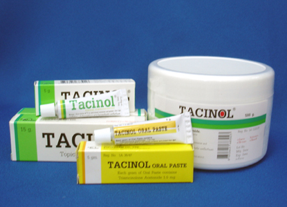 triamcinolone acetonide ointment used for allergies