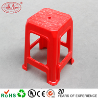 High Quality China Style Chair Plastic Chair Small Square plastic Stool 2015 chair