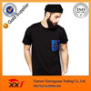 Fashion tee shirt black blank t-shirt blank pocket t shirt wholesale