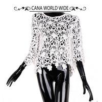 Newest Design Elegant Models Blouse in Lace