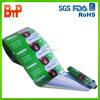 metalized aluminium hair shampoo film rolls