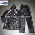 Traje impermeable, impermeable ropa de trabajo con cinta reflectante