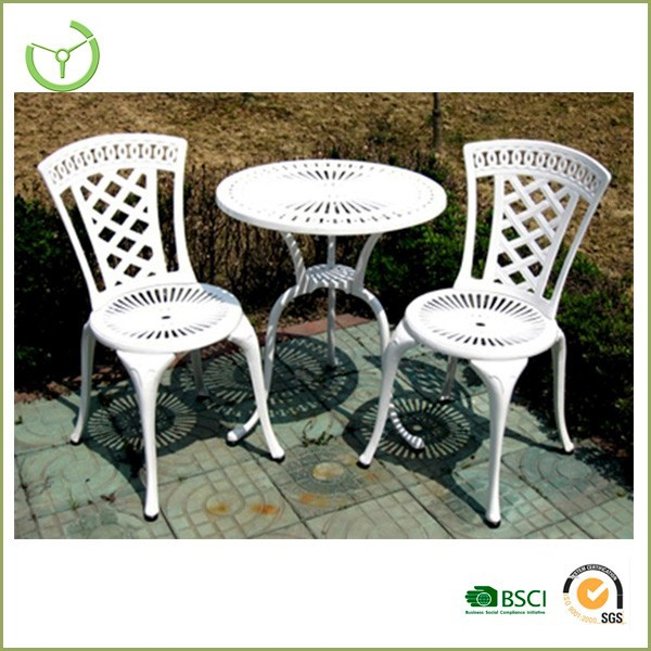Newest Hd Designs Aluminum Die Cast Outdoor Furniture With Mutiple Colors B